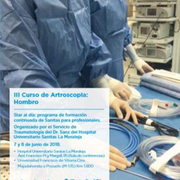Sanitas Formación III Curso Artroscopia Avanzada de Hombro