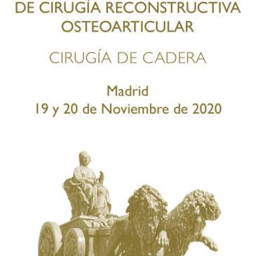 XXV CURSO INTERNACIONAL DE CIRUGÍA RECONSTRUCTIVA OSTEOARTICULAR