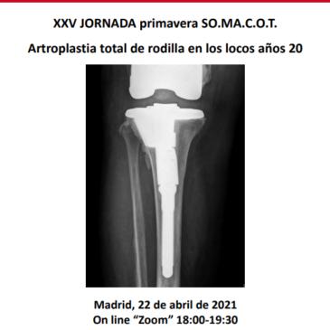 XX1V JORNADA DE PRIMAVERA SO.MA.C.O.T. 2021